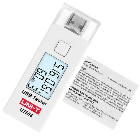 USB-тестер UNI-T UT658 - Просмотр 4