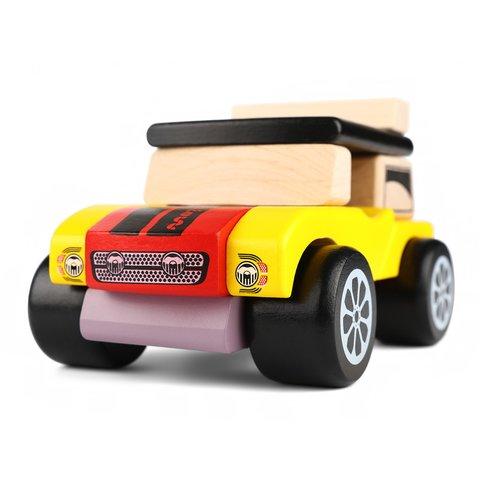 Конструктор CUBIKA Машинка мини-кабриолет LM-3 - /*Photo|product*/