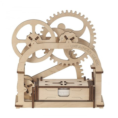 Mechanical 3D Puzzle UGEARS Business Card Holder Preview 1
