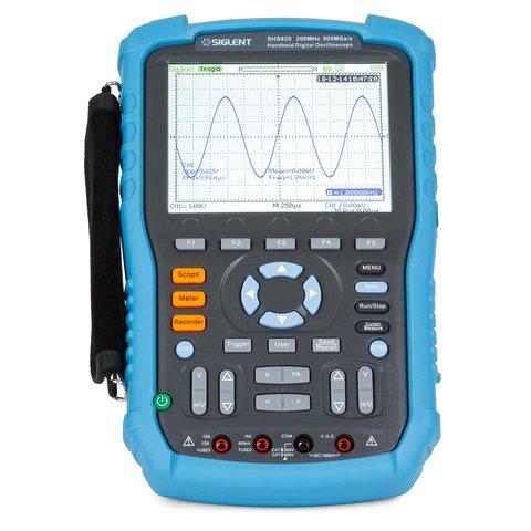 Handheld Digital Oscilloscope SIGLENT SHS820 Preview 2