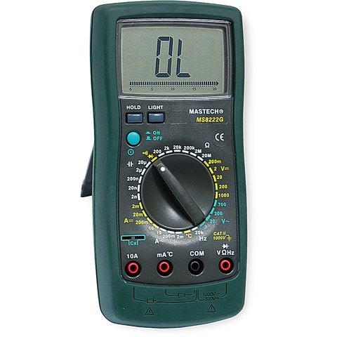 Digital Multimeter MASTECH MS8222G Preview 2